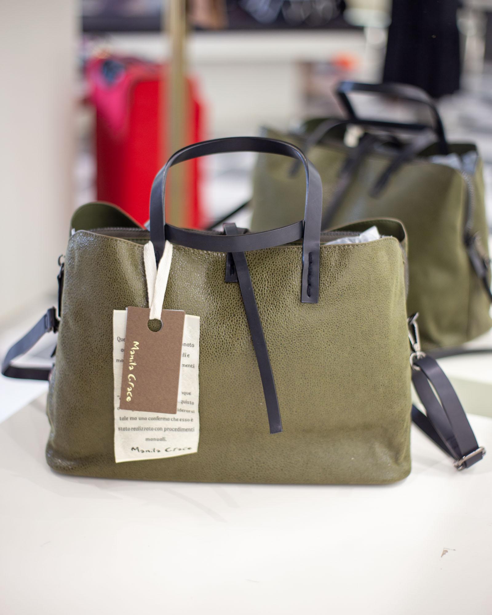 Shopper Manila Grace verde